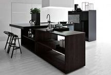 Architecture, interiors: Kitchen / by Up-her.com