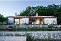 Architecture, exteriors: outdoors / Architecture as seen from outside / by Up-her.com
