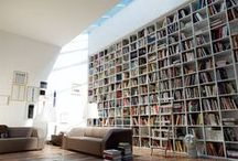 Architecture, interiors: Library / A great place to keep all your books / by Up-her.com