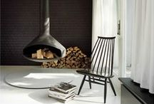 Architecture, interiors: Fireplaces / by Up-her.com