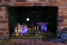 Department 56 Display Ideas / New and interesting display ideas and inspiration.