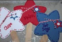 4th of July / From Party Ideas to Festive 4th of July Crafts!  Even a few ideas of what to serve at your next 4th of July BBQ, Red, White & Blue Party Decorations, & ways to keep kids busy while they wait for the fireworks! / by Craft Supplies for Less, Inspire-Create