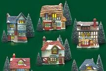 Retired Department 56 of years past / Retired Department 56 houses and accessories from the past.