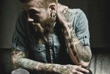 Guys, tattoos and style ;) / Tattooed and stylish men