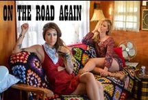 """""""On The Road Again"""" Fall 2015 Lookbook / Trendy and Tipsy Fall 2015 Lookbook featuring one-of-a-kind Upcycled Vintage and brands such as Cotton Candy LA."""