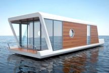 Houseboat / Here is information on homes on the water and the houseboat! Links, images, and more.....