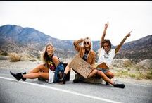 Road to Coachella Lookbook / Road to Coachella: Trendy and Tipsy Spring 2016 lookbook