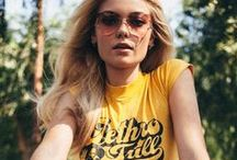 70's Summer / For all the gals who feel like they're living in the wrong decade...we feel ya.