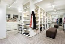 Closets File / Sharing my love of fabulous closets.