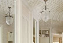 Ceilings File / Interesting, unusual, cool and lovely ceiling ideas and inspiration.