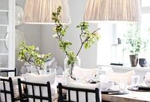 Dining Rooms File / Ideas and inspiration for dining rooms