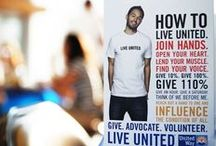 Spotted: LIVE UNITED / United Way Artwork appearing in YOUR community! / by United Way
