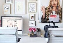 Home Office and Craft Rooms File / Ideas and inspiration for home office and craft room spaces