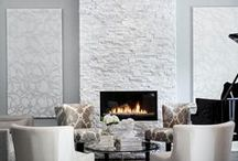 Fireplaces File / Ideas and inspiration for indoor and outdoor fireplaces and fire pits
