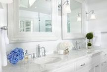Bath & Powder Rooms File / Ideas and inspiration for powder rooms and half baths