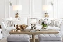 Living Rooms File / Ideas and inspiration for living & family rooms