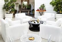 Outdoor Rooms File / Ideas and inspiration for porches, patios and other outdoor spaces