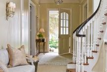 Entryways & Foyers File / Ideas and inspiration for entryways and foyers