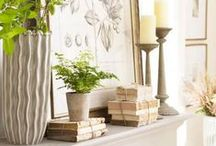 Seasonal Decorating: Fall File / Ideas and inspiration for fall decorating.