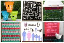 Momma D Cricut Projects / Cricut Projects from MommaDandDaBoyz.net / by Momma D and Da Boyz