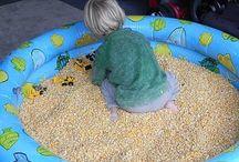 Sensory / Autism Stuff / Great ideas for sensory kids & autism. / by Kim Quinn