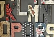 Cardboard Letters- VNS project