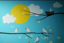 Mural Art / Add style and personality to any  wall , indoors or outdoors.