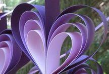 Purple chic / Tout en nuance de violet / by Emilie Dubut