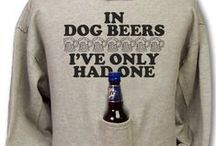 """Beer Pouch Hoodies / What's a beer pouch hoodie you ask? It's just the greatest invention ever! You work hard all week so shouldn't your clothes pitch in when they can? Never have to worry about such trivial & boring things like """"where am I going to put my beer"""" again with these great hoodies."""
