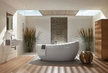 Luxury Bathrooms Ideas / If you're remodeling and looking to add a new bathtub to your bathroom, find out what options are available for bathtub types, installation options, and materials. Here you can find some of the best luxury bathroom ideas to inspire you. Check daily inspirations at Luxury Bathrooms Blog!