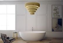 Lighting Design Ideas / This board is focused on two things: luxury bathrooms and Lighting design ideas. After all, when you are trying to get inspiration for this section of the house, one of the major challenge is about the lighting issue. That's why Luxury Bathrooms is going to share with you today 10 lighting design ideas to embellishing your industrial bathroom. Get Inspired!