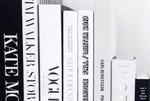 Book Styling File / Decorating ideas for book styling for coffee tables, vignettes, and bookcases/bookshelves.