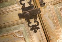 DOOR Obsession / I love doors.  I'm a little obsessed.  I collect them on vacation, and on pinterest, and maybe its not what they are as much as what they represent - mystery, the unknown, a portal to ......? / by Claudine Barnett  (CBID Design)