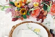 WEDDING DESIGN / Wedding design + styling inspiration.
