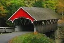 Bridges and Barns and Cabins, Oh My!  / Just a few places that I absolutely adore.  / by Melissa Buck