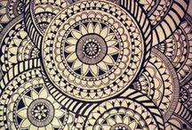 zentangle / Such a fun relaxing hobby / by Claudine Barnett  (CBID Design)