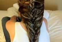 Inspiration + hair / Braid + ponytails + haircuts / by Isebrendi L-G