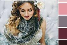 COLOR PALETTES / color, color inspiration, color palettes, wedding, event, or design inspiration