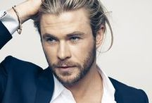 Hemsworth. / The Mighty Thor. Rawr! / by Carrie