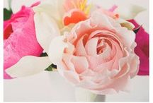 paper flowers / by Sarah Alves