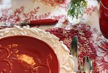 ~ Christmas Tablescapes ~