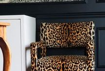 leopard for home design and fashion / leopard inspiration