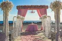 Destination and beach wedding ideas / destination beach weddings style and inspiration details / by Ali Lerner