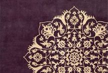 Lace and stencil motifs