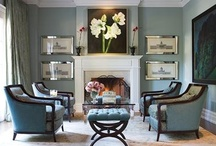 Decor - Living/Family Rooms / by Frances Dunning Anderson