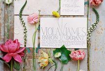 paper goods {weddings}