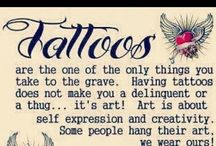 Forever INKED / Tattoos--some I want to get