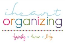 In it's PLACE / Tips on organizing whether in home, office, life, etc.