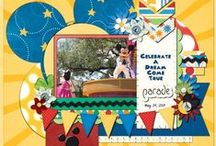 Scrapbooking - Disney Pages / Ideas to create Disney themed pages