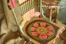 Painting - Furniture / Ideas for painting furniture